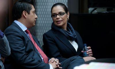 La exvicepresidenta Roxana Baldetti será evaluada por los médicos del INACIF para conocer su estado de salud, y si debe permanecer en la cárcel o debe ir a un centro asistencial. (Foto: Diario de Centroamérica)