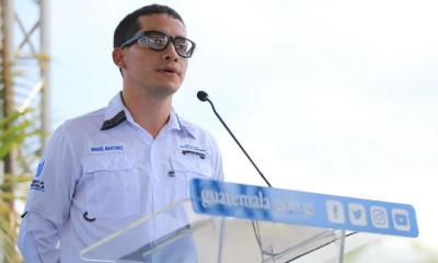 El director ejecutivo del Centro de Gobierno, Miguel Martínez fue invitado al Congreso a rendir cuentas. (Foto: Gobierno de Guatemala)