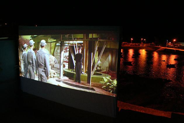 cine de terraza