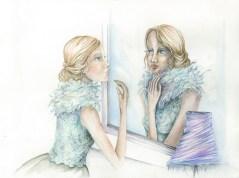 chica espejo