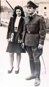 Dinko Šakić sa suprugom Nadom
