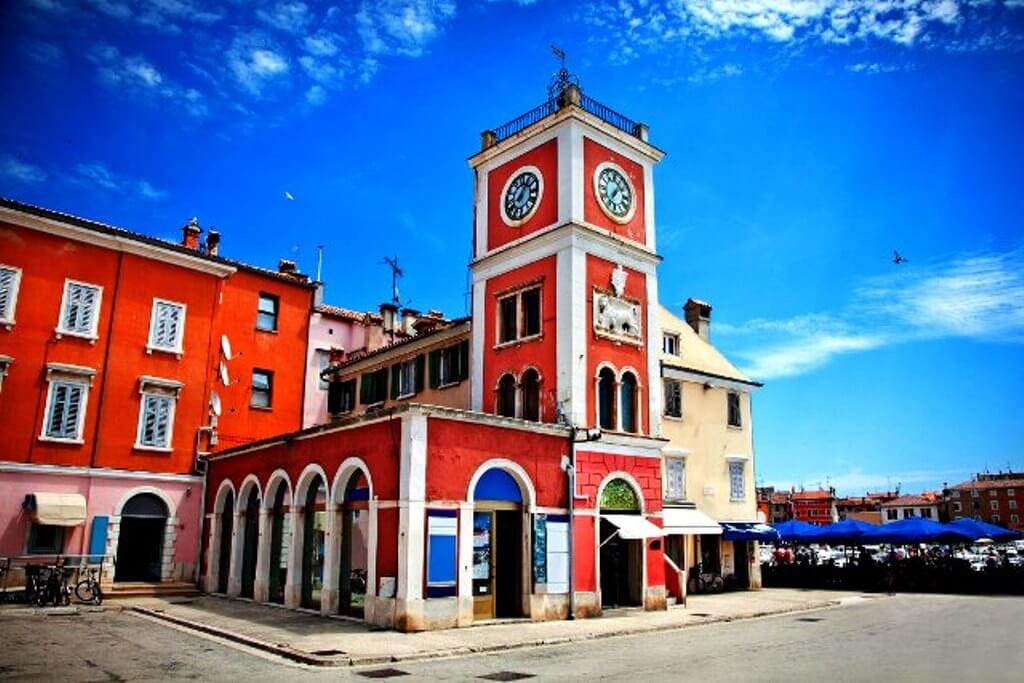 Town Clock in Rovinj