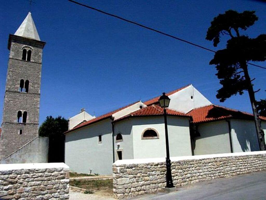 Church of St Anselm in Nin