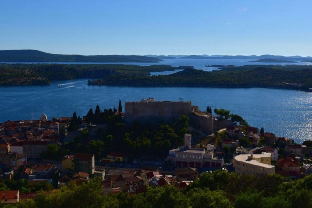 Fort of St Michael in Sibenik
