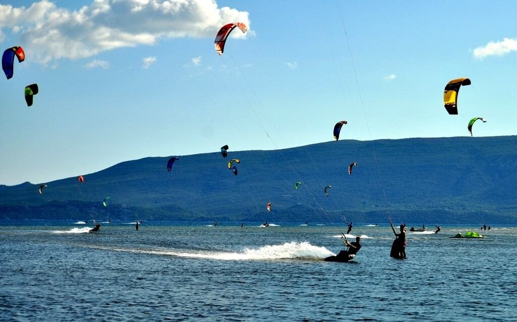 Kitesurfing in Croatia