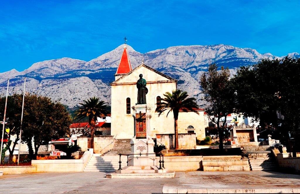 Co-Cathedral in Makarska