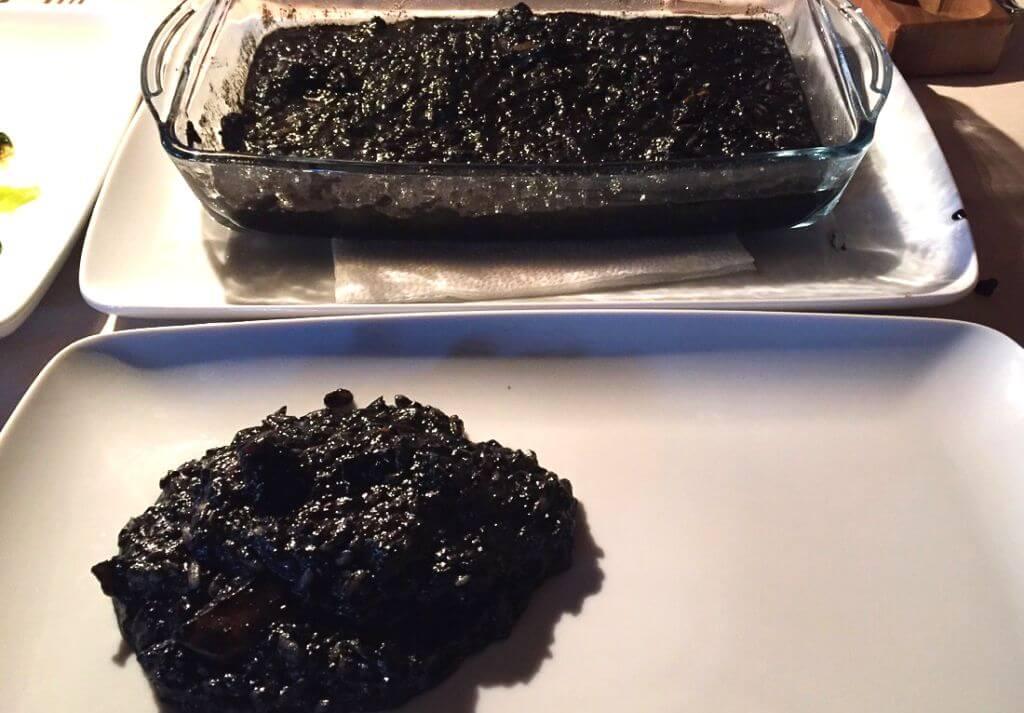 Black Risotto, Croatian Food