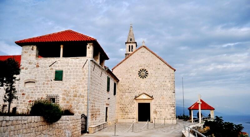 Franciscan Monastery in Orebic, Peljesac Peninsula