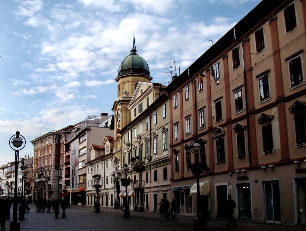 Korzo, Rijeka