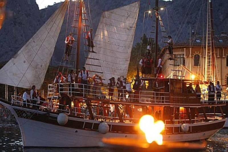 Pirate Battle in Omis