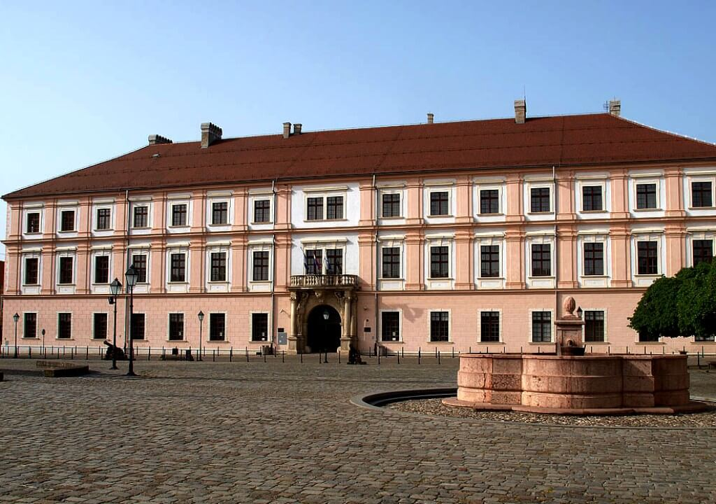 Rectorate, Osijek