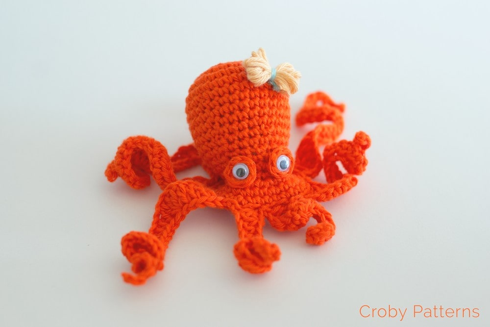 Crochet Octopus by Croby Patterns