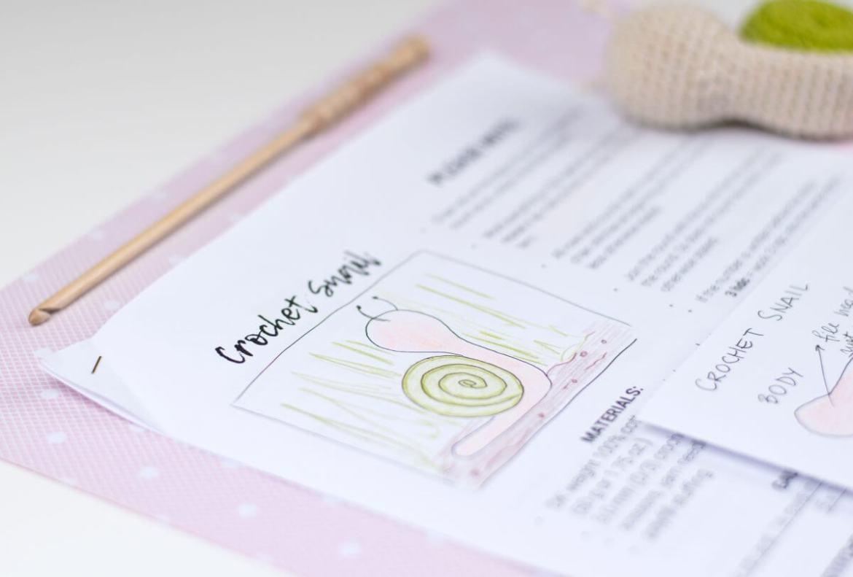 Crochet Amigurumi Snail by Croby Patterns