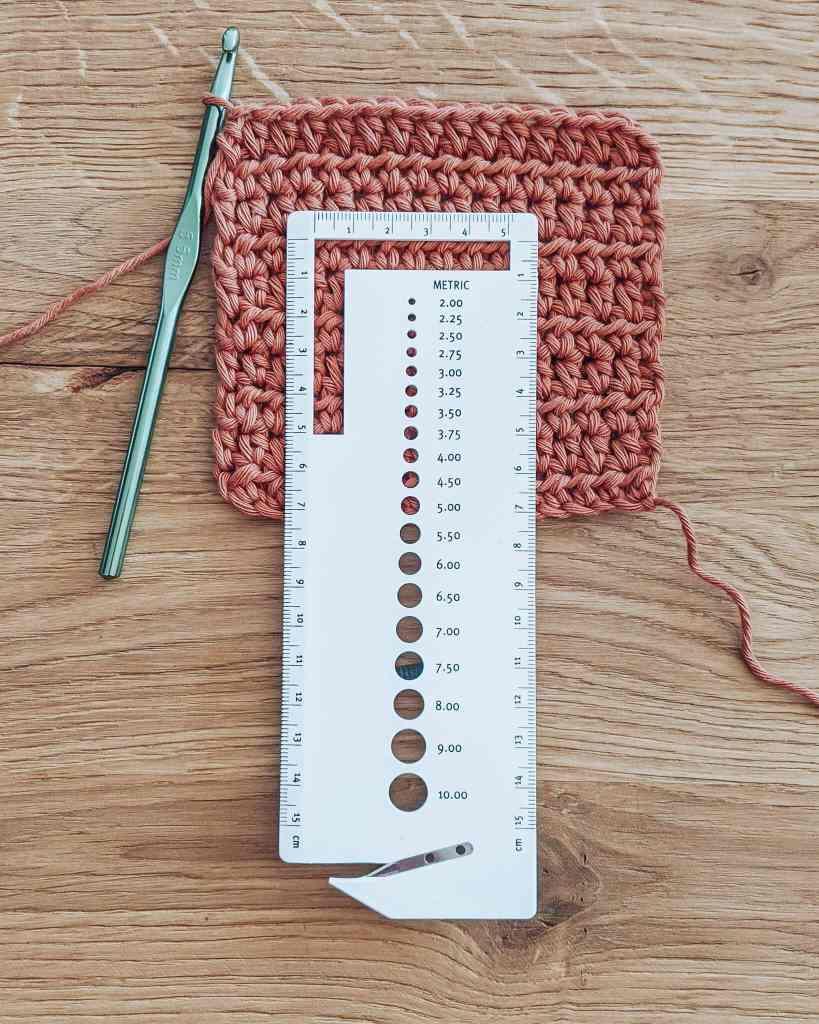 Gauge - Crochet Blanket by Croby Patterns