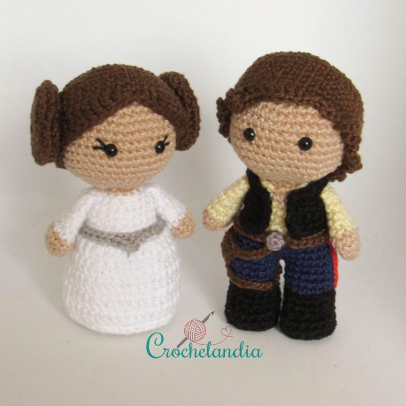 Toy Art Princesa Leia e Han Solo