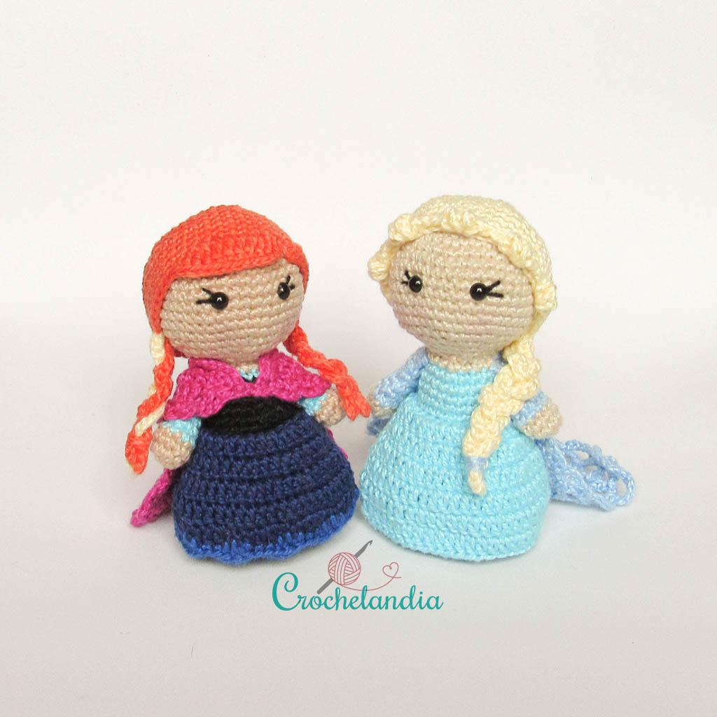 Toy Art Amigurumi Elsa e Anna