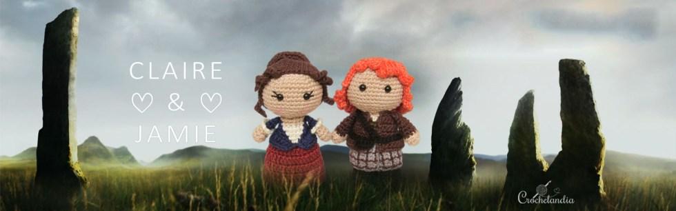 Jamie e Claire, de Outlander
