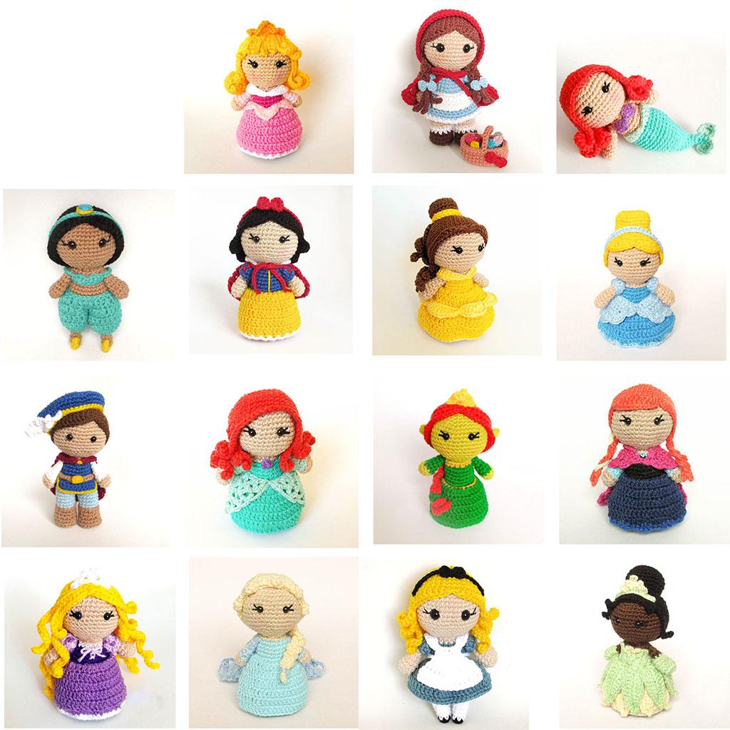 Amigurumi princess rapunzel free tutorial pattern | Crochet dolls ... | 1024x1024