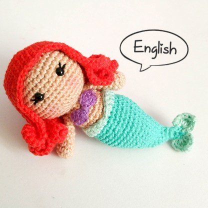 Toy Art Ariel Mermaid