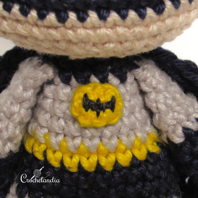 Batman Amigurumi Crochet Doll Pattern | Crochet batman, Crochet ... | 1495x1495