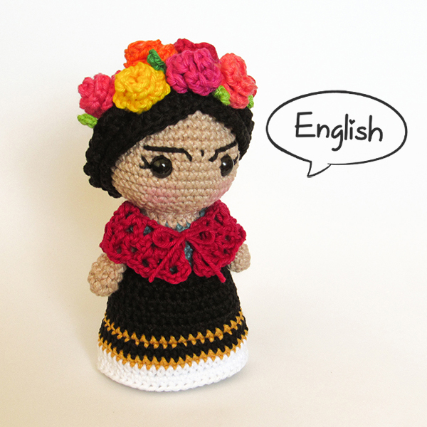 Toy Art Amigurumi Frida - by Crochelandia