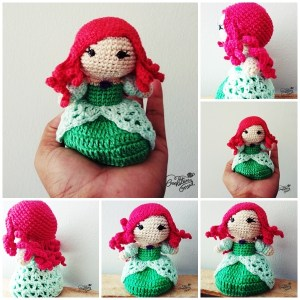 Ariel - by Crocheteira Nerd