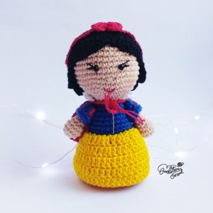 Branca de Neve - by Crocheteira Nerd