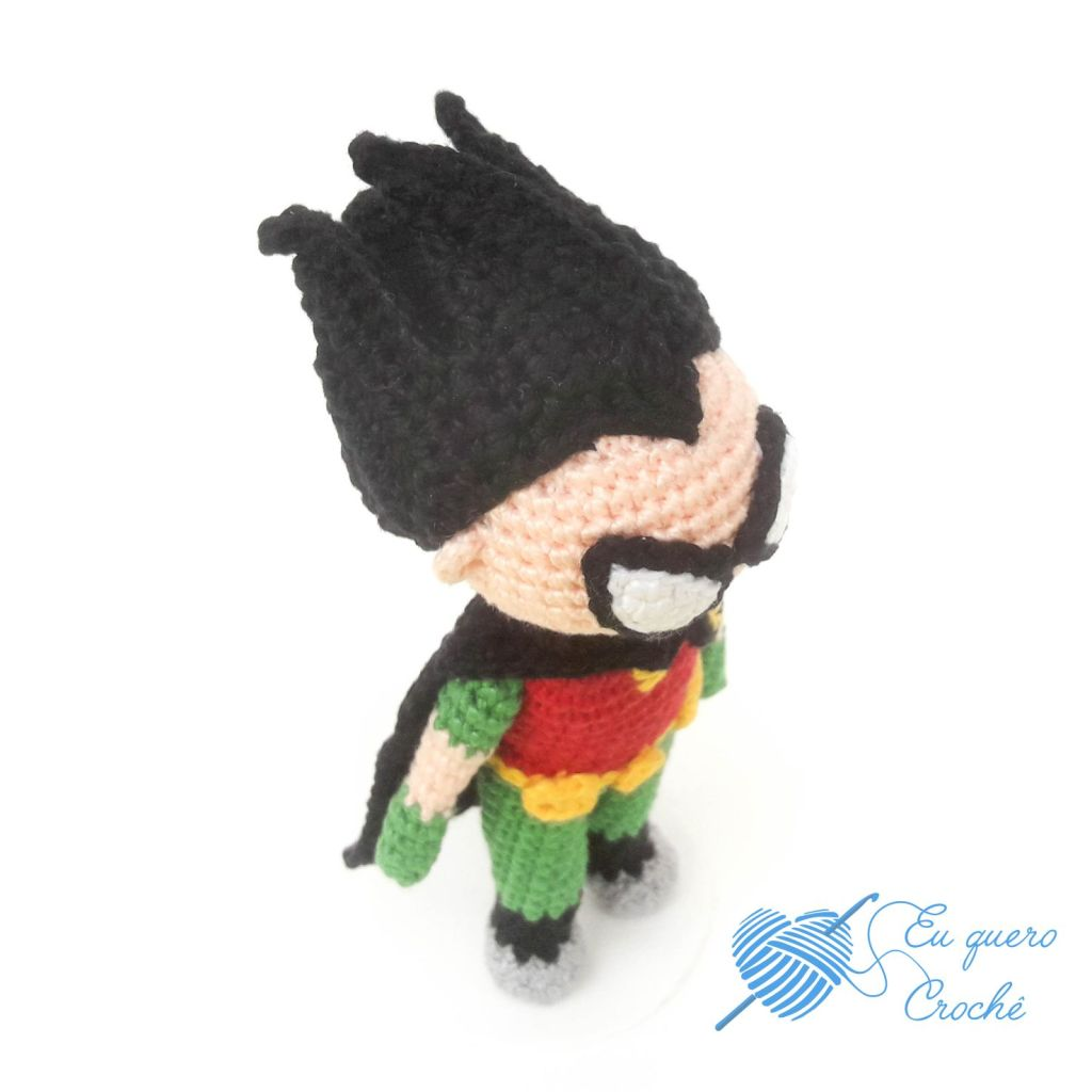 Robin Toy Art amigurumi - By Adriana Gori