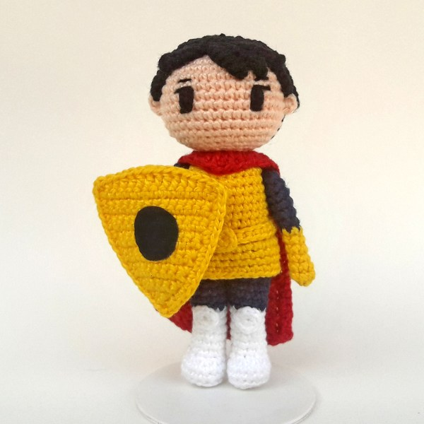 Eric CD Toy Art amigurumi - By Adriana Gori