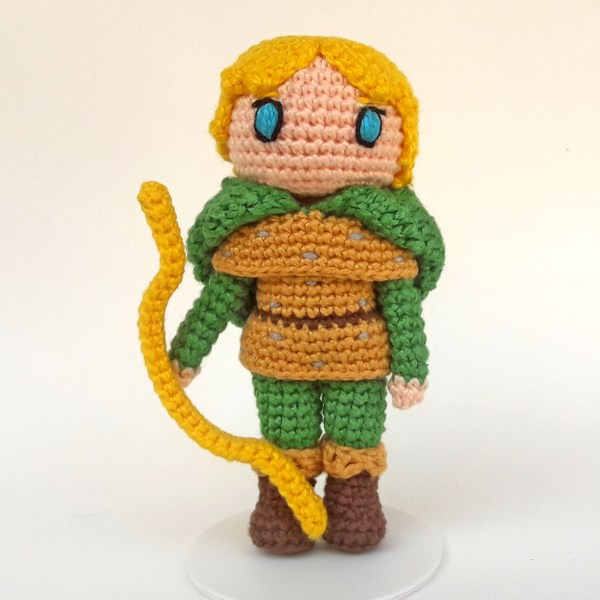Hank CD Toy Art amigurumi - By Adriana Gori