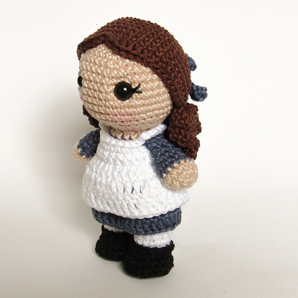 Toy Art Amigurumi Diana Barry - by Crochelandia