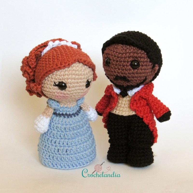 Toy Art Simon e Daphne - by Crochelandia