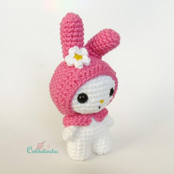 Toy Art Amigurumi My Melody - by Crochelandia