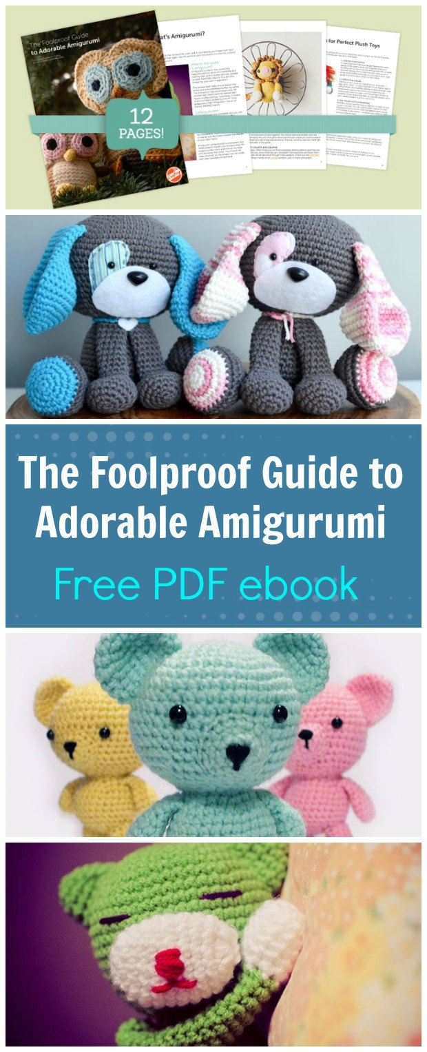 Free PDF ebook to download with the all the basics you need to know to get great results with crochet amigurumi animals, people, dolls and more.