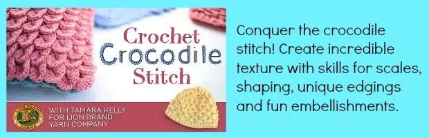 crocodlie stitch tutorials