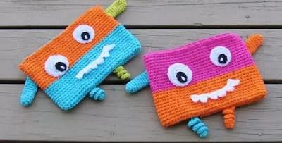 Crochet Pencil Case or Pouch