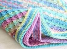 crochet baby blanket - spring into summer blanket