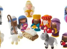 Christmas Nativity Crochet Amigurumi