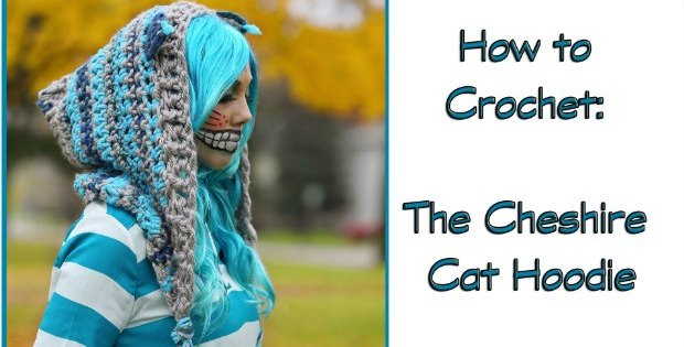 Cheshire Cat Hood Crochet Pattern