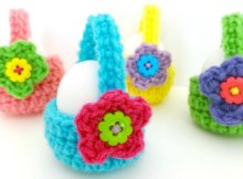 Crochet Egg Basket Fantastic Easter Gifts