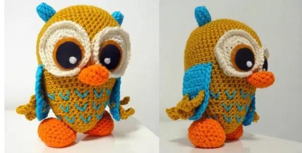 owl amigurumi crochet pattern