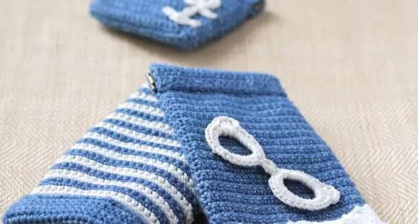 Glasses Pouch crochet pattern