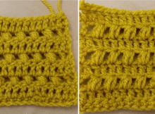 Crochet puff stitch learn how to free tutorial