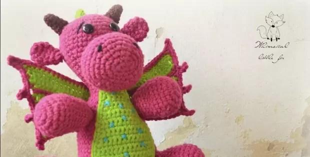crochet dragon amigurumi