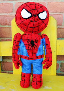 Spiderman Doll Crochet Pattern