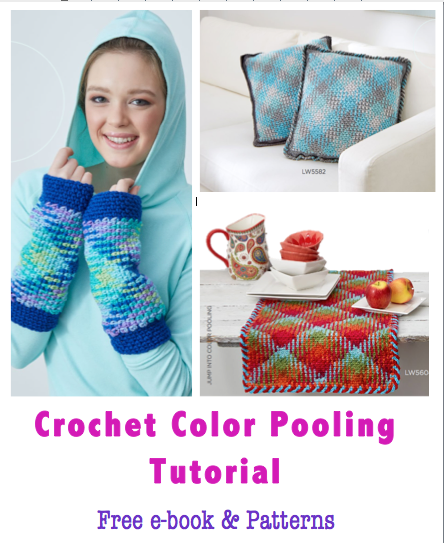 Crochet Color Pooling Free Tutorial Free e-book Free Crochet Pattern