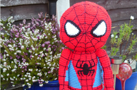 Spiderman Doll Crochet Pattern
