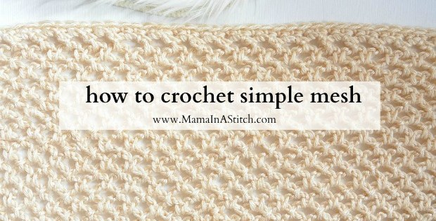 Crochet Mesh Stitch