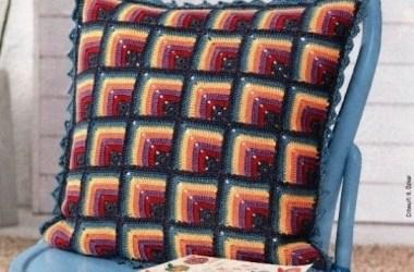 Crochet Cojín de Motivo