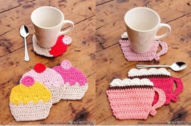 Posa Taza Crochet